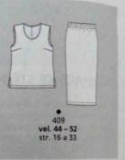 burda plus spring 2004 pegged knit skirt