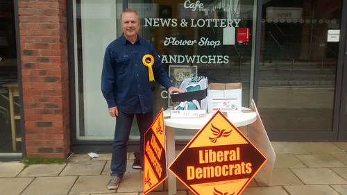 Birtley street stall May 17 1