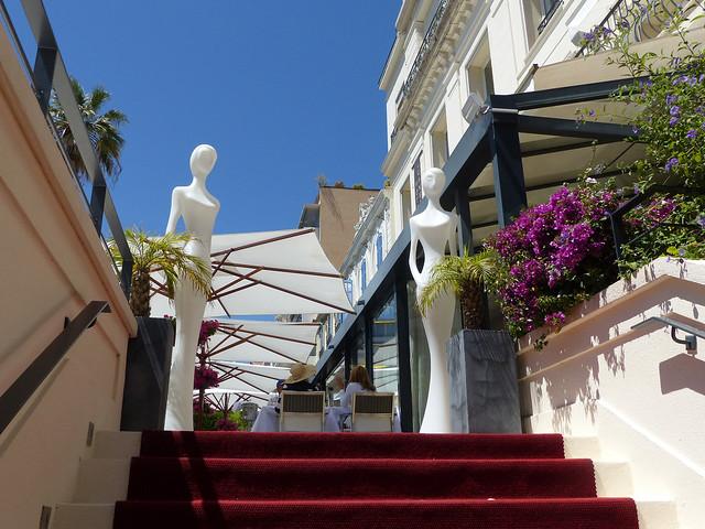 terrasse hôtel cannes