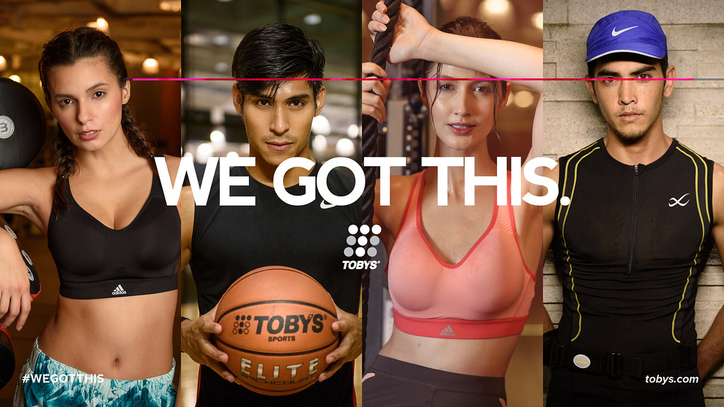 "Complementing its new ""We Got This"" campaign, Toby's Sports also launched its e-commerce site in support of every individual, athlete or not, in their goal to maintain a healthy and active lifestyle."