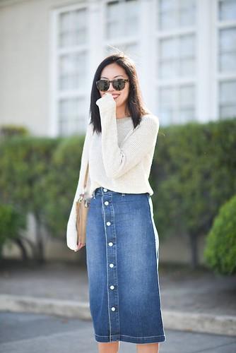 saia midi jeans 16