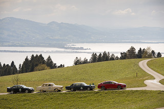 Opel bei der Bodensee Klassik 2017