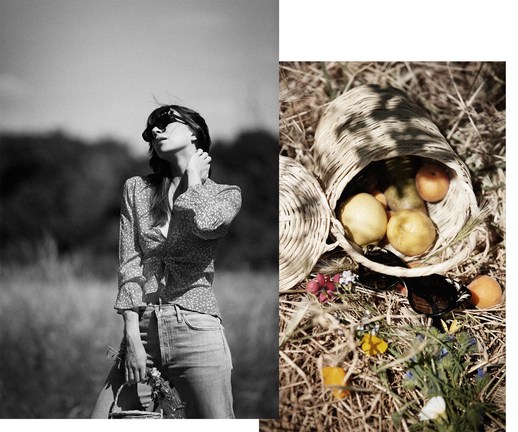 outfit rouje jeanne damas style south france cannes cote d'azur bordeaux countryside summer sunshine realisation par blouse style blogger parisienne francaise bangs brunette cats & dogs modeblog fashionblogger düsseldorf ricarda schernus jane birkin 6