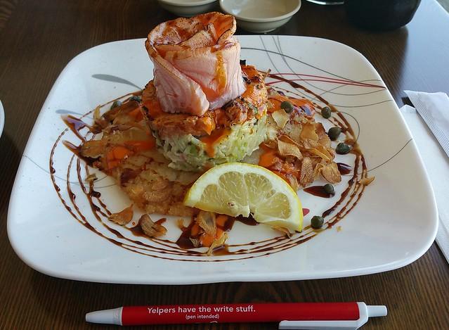 2017-05-25 KIMU sushi - Sushi Cake