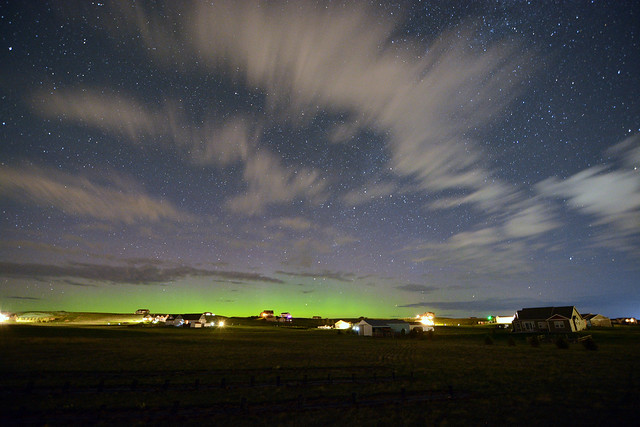 Aurora @ 1:43AM MDT (Widefield)