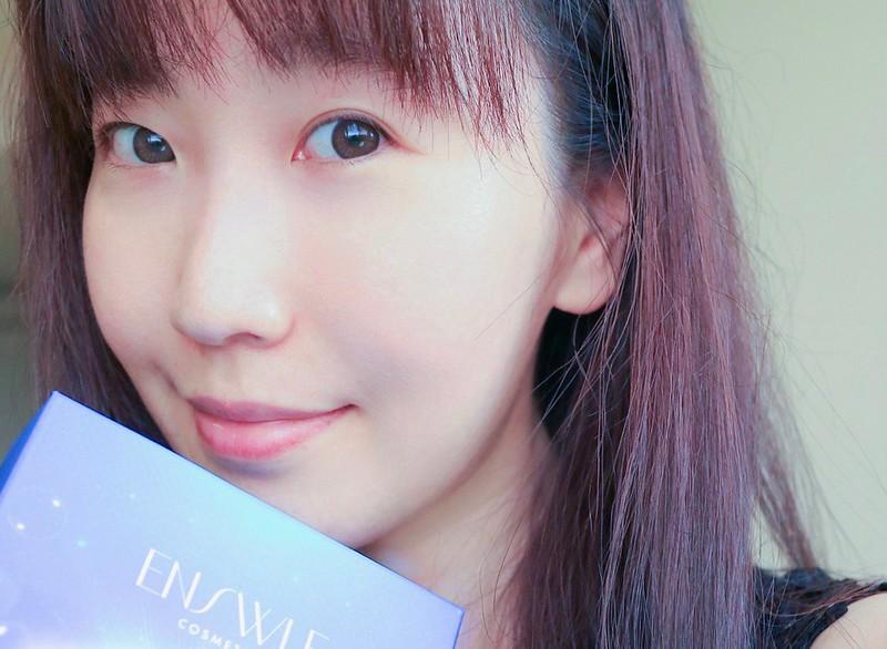 【保養】-ENSWLE璦絲兒適用各種肌膚的鑽白柔嫩羽絲絨面膜 / 輕鬆打造保濕透亮美人肌