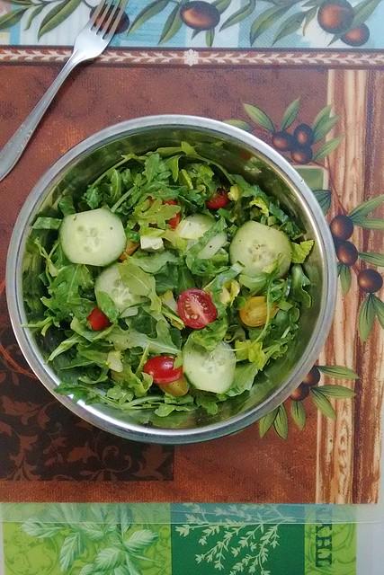 Tandoori Chicken Salad ~ Teczcape-An Escape to Food