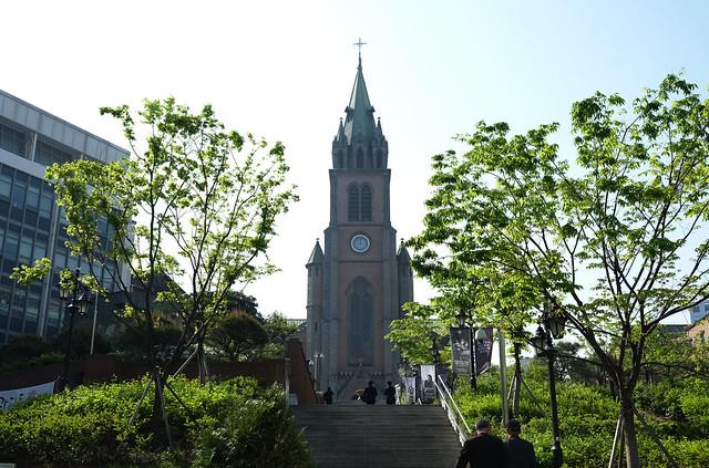 2 Patty Villegas - The Lifestyle Wanderer - Seoul - Korea - Wendys - Kimchi Chicken Fillet - Myeongdong - Cathedral -3