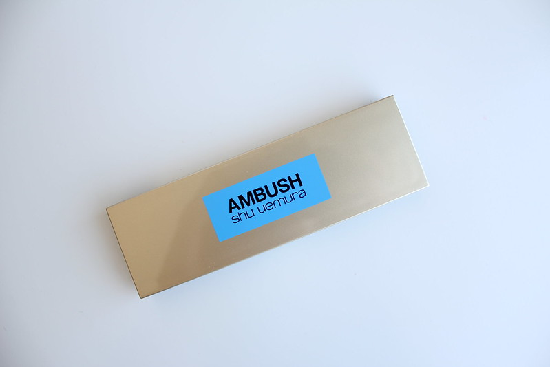 Shu Uemura Ambush collection for spring/summer 2017 review and swatches