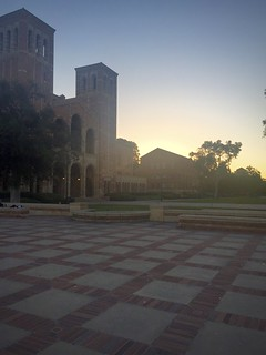 UCLA Sociology Building + Royce Hall