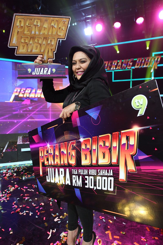 Zulin Aziz - Juara Perang Bibir 2017