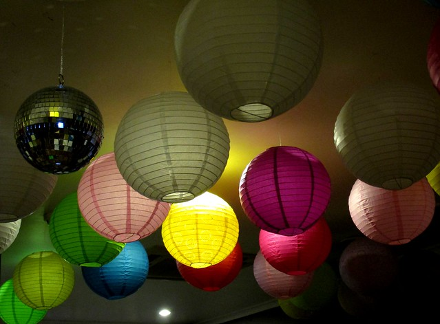 Flavours Thai Kitchen lamp shades