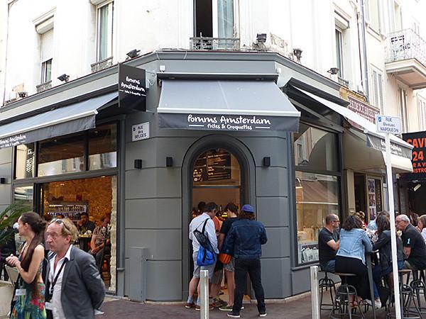 pomms amsterdam, frites et croquettes