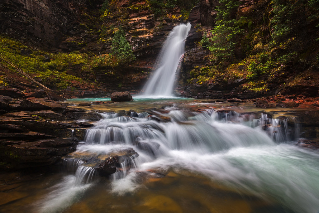Unexpected... Mineral Creek Falls, San Juan Mountains, Colorado
