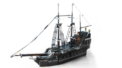 Lego Black Pearl from Pirates of the Caribbean