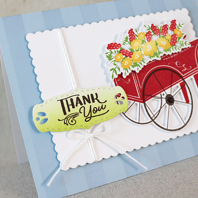 Summer Market Thank You Card 3