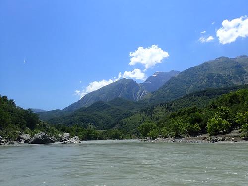 Vjosa river