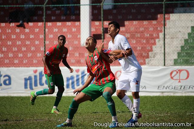 Portuguesa Santista 1 x 1 Santos, partida válida pelo Campeonato Paulista Sub-20