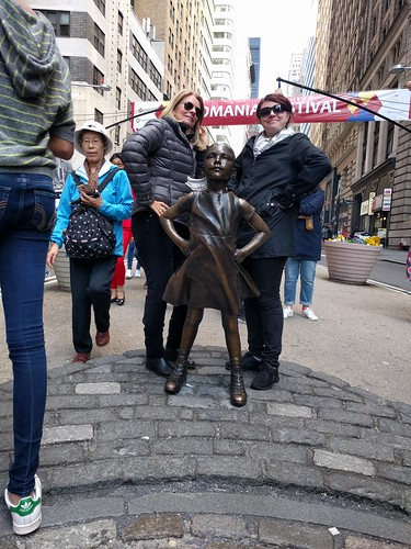 Strike A Pose With Fearless Girl