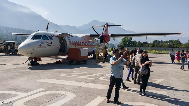Air India ATR-72 (VT-AII) at VIBR (Kullu/Bhuntar)