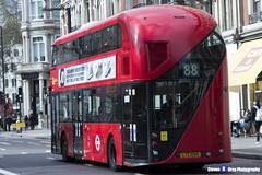 Wrightbus NRM NBFL - LTZ 1054 - LT54 - Oxford Circus 88 - Go Ahead London - London 2017 - Steven Gray - IMG_9532