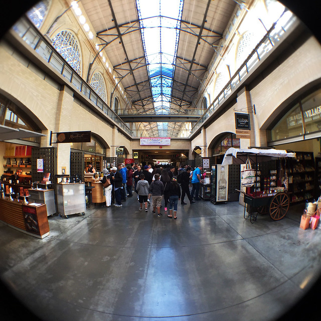 Ferry Building fisheye