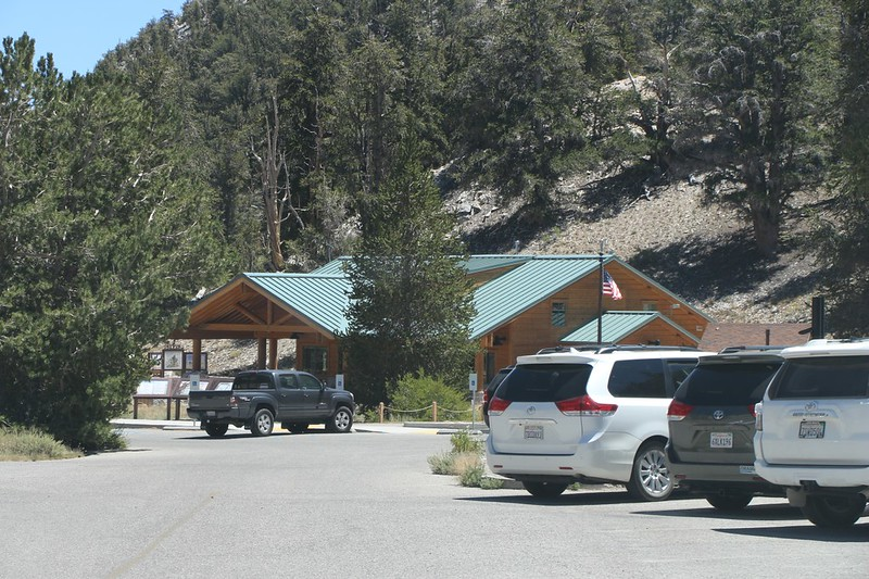Schulman Grove Visitors Center in the Ancient Bristlecone Pine Forest