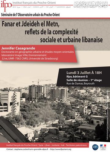 Fanar et Jdeideh el Metn, reflets de la complexité sociale et urbaine libanaise
