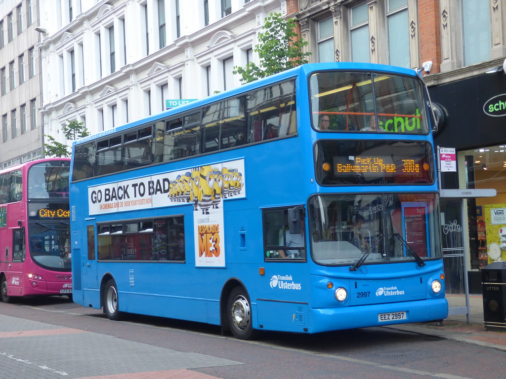 Ulsterbus by Belfast Bus and