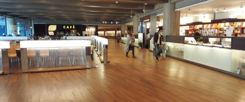 奈良国立博物館レストランは地下1F