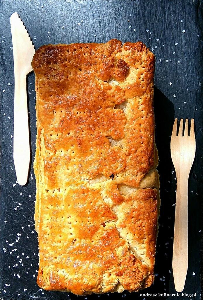 ciasto kruche z kaszą gryczaną i białym serem