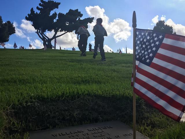 2017-05-27 Memorial Day, El Camino Memorial Park