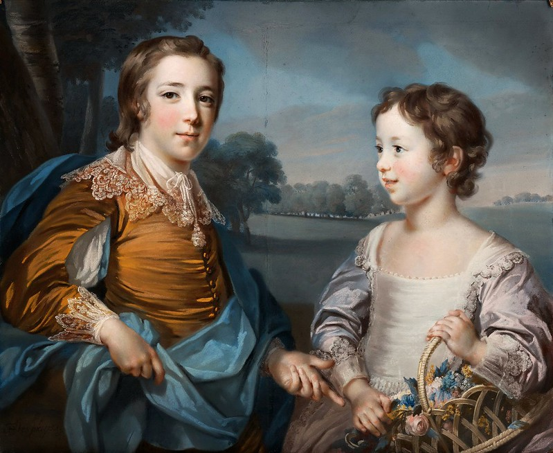 Francis Cotes - Portrait of Joseph Gulston and His Brother John Gulston (1754)