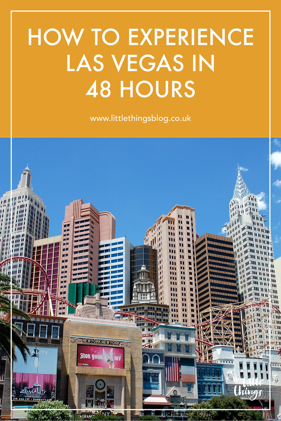How to spend 48 hours in Las Vegas travel blogger UK
