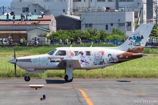 痛飛行機 - Anime wrapping airplane in RJOY 2017.6.4 (35)