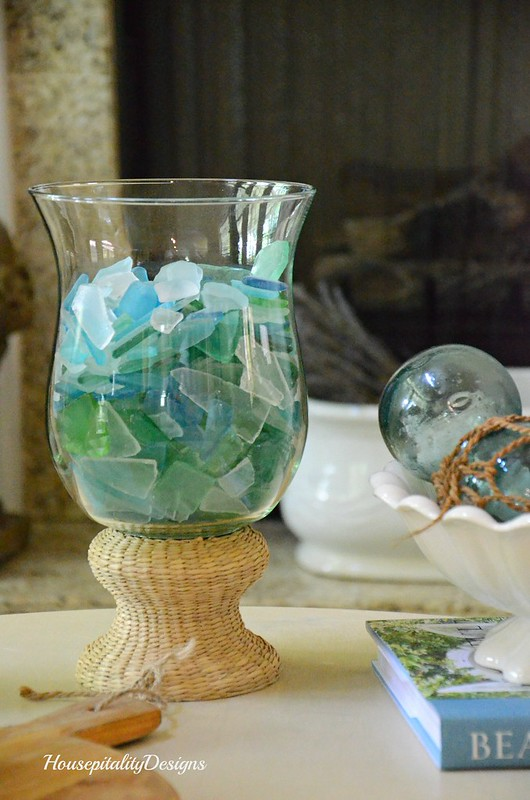 Hurricane-Sea glass-Housepitality Designs