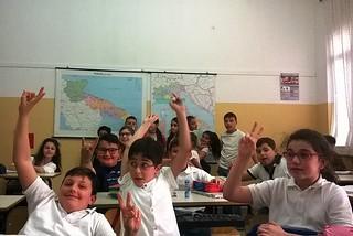 Noicattaro. Diritti a Scuola alla Gramsci front