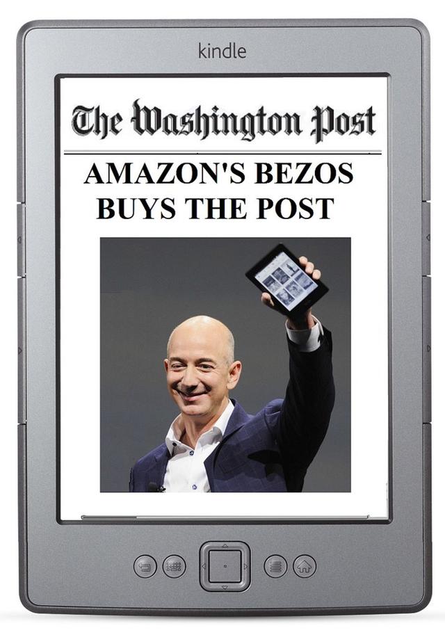 Bezos mua lại tờ Washington Post với giá 250 triệu USD.