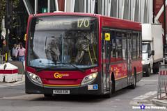 Alexander Dennis Enviro 200 - YX60 EOE - SE47 - Roehampton 170 - Go Ahead London - London 2017 - Steven Gray - IMG_9445