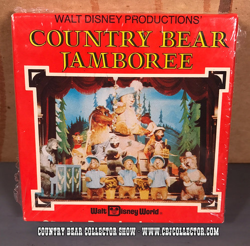 1970s Walt Disney World Country Bear Jamboree Souvenir 8mm Film - Country Bear Collector Show #107