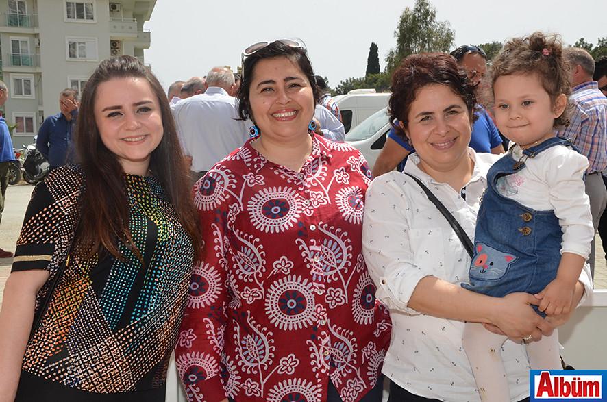 Psikolog Seda Güler, Yüksek Mimar Emine Cimrin Koçak, Ayşe Cimrin Kaya