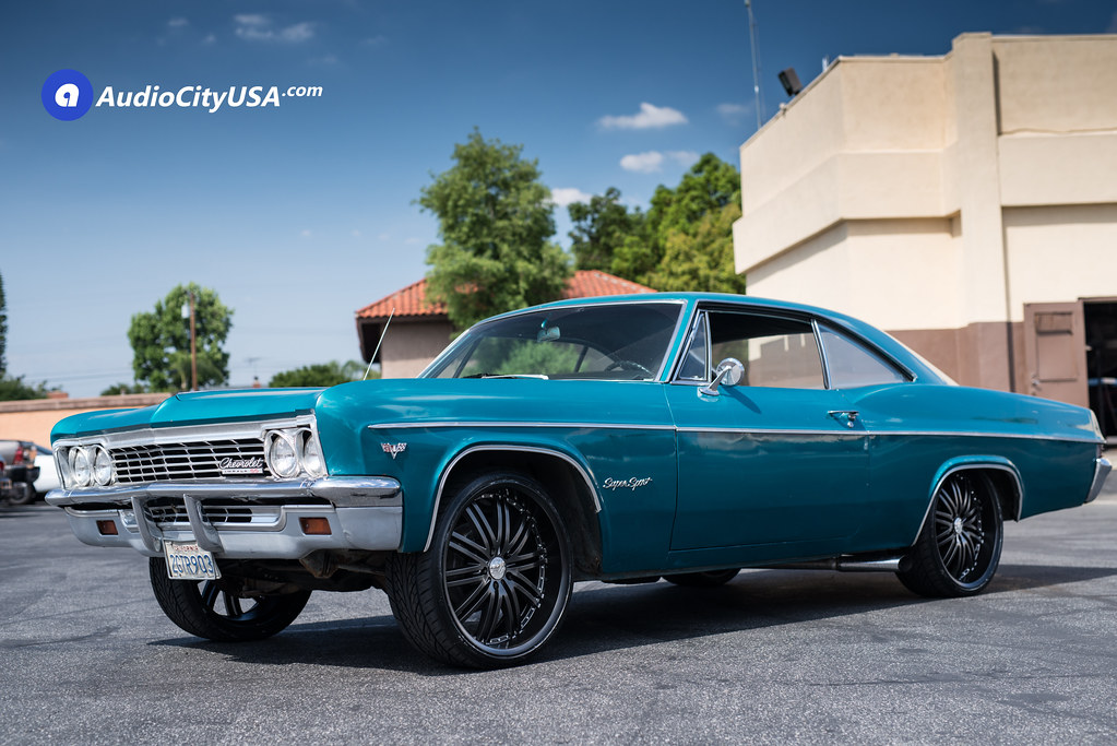 1969 Chevrolet Impala Ss On 22 Quot 2 Crave Wheels No 11 Matte