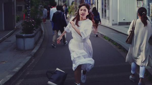ゲーム【陰陽師】CM:走り出す川口春奈