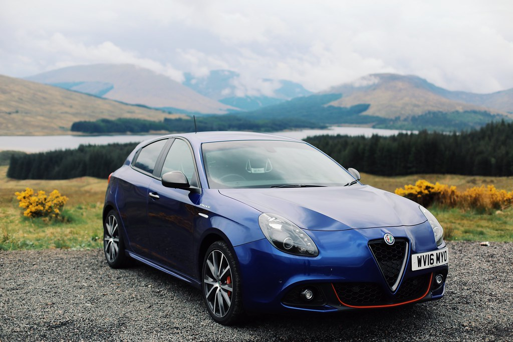 The Little Magpie Glencoe Scotland Alfa Romeo Drive