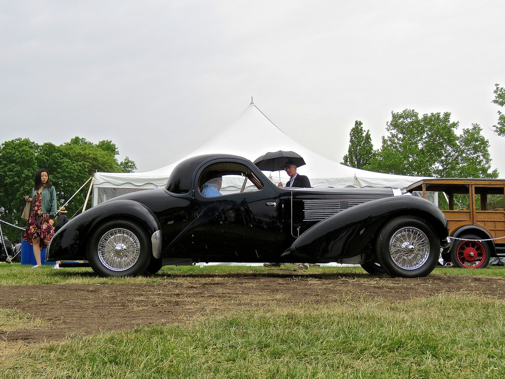 Bugattis In The Rain 6