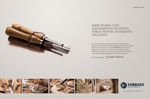 Detalhes dos empreendimentos Embraed são destaque em campanha da Free
