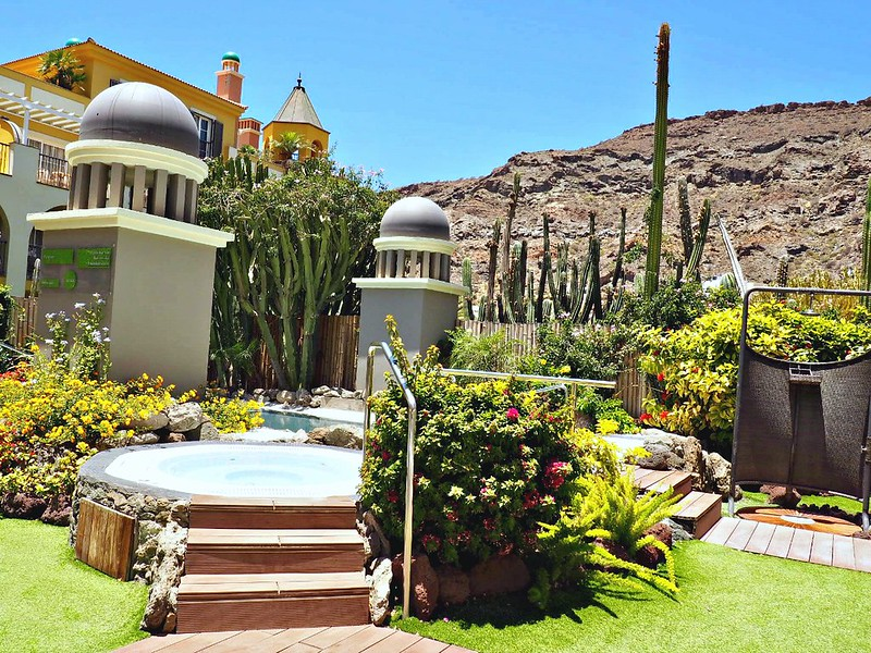 gran canaria wellness spa outdoors
