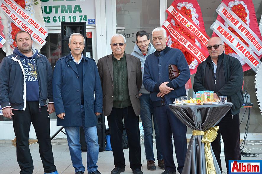 Mehmet Sarıkadıoğlu, Emin Sarıkadıoğlu, Haşim Yetkin, Muzaffer Tekeoğlu, Ali Oğuz