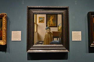London - National Gallery Vermeer Young Woman Standing