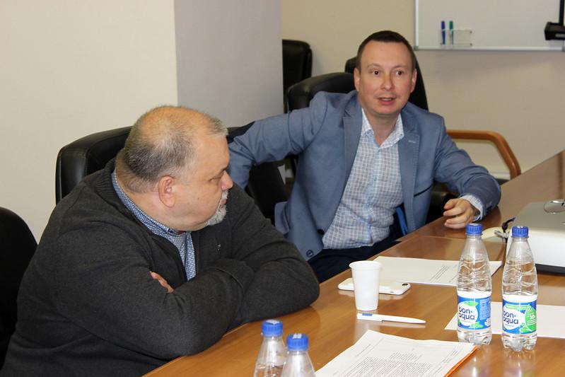 Дмитрий Соколов «АРДПП», и Константин Недосекин, «Пресс-Логистик»